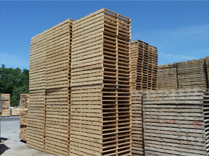 Wood pallets, pallet recycling, and scrap pallet removal ...